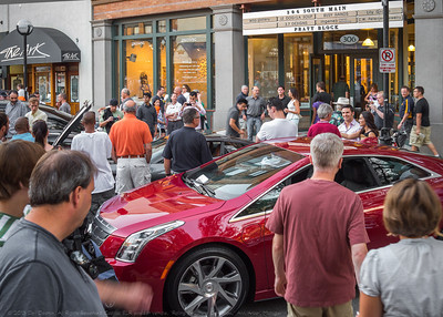 "Cadillac ELR concept car at 2013 ""Rolling Sculpture Car Show,"" Ann Arbor, Michigan"
