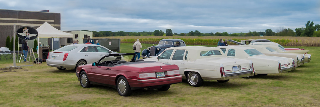 Cadillac-LaSalle Club Museum & Research Center groundbreaking at Gilmore Car Museum