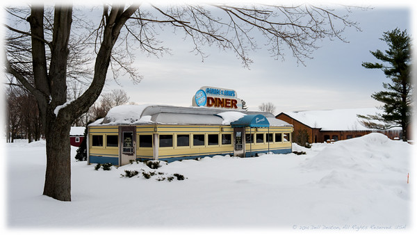 George & Sally's Blue Moon Diner, Gilmore Car Museum Campus
