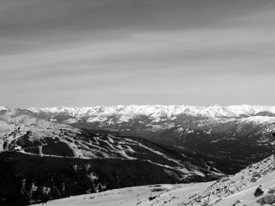 Blackcomb Peak - view of Whistler