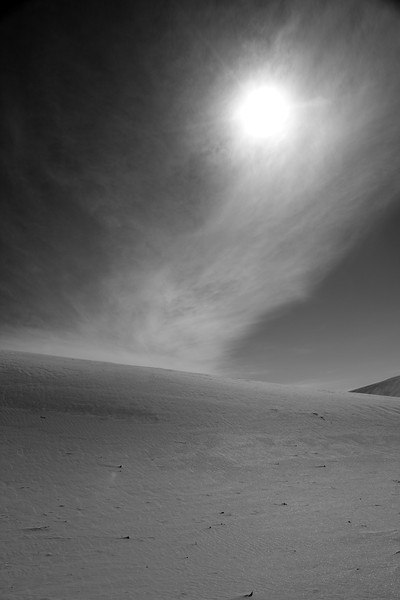 White Sands National Monument, New Mexico. <br /> January 9, 2013<br /> White gypsum sand dunes unlike any in the world...