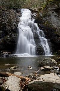 Spruce Flats Falls   Tremont area GSMNP  Jan 2009