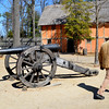 Canon from the Revelutionary War in Jamestown VA