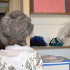 Colonial Hair Style Looking at the Back of Head in Williamsburg VA