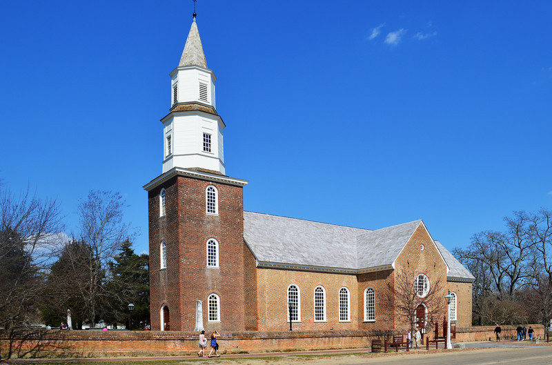 One of the Oldest Churches in America in Williamsburg VA