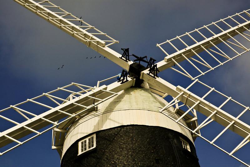 Burnham Overy Staithe Windmill - Oct 2009