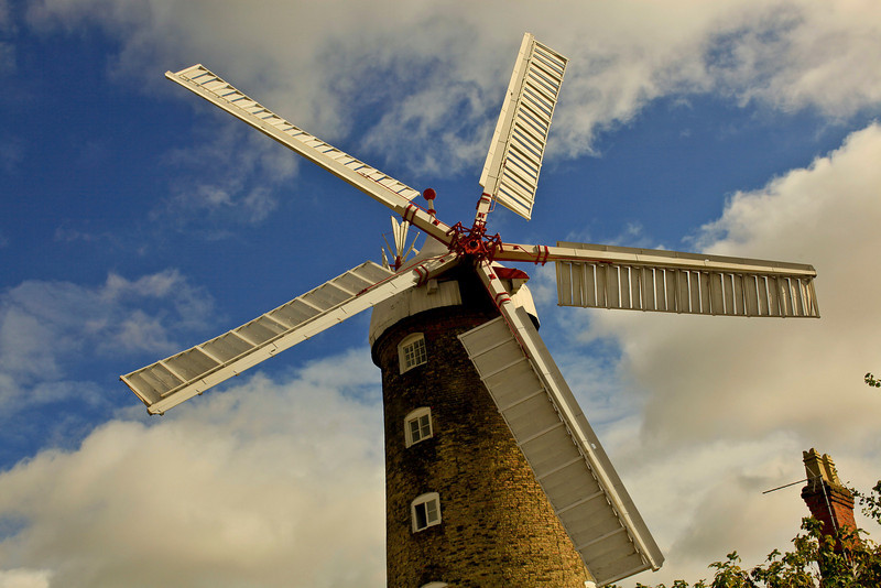 Windmill in Boston Lincs.