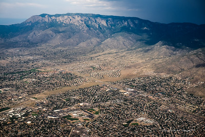 The Northeast Heights of Albuquerque and the Sandia Montains