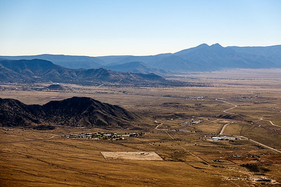 South end of Kirtland AFB, NM