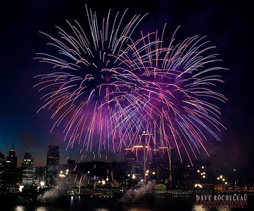 Windsor Waterfront Fireworks June 2016