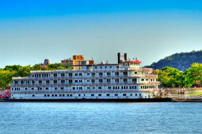 Queen of the Mississippi Steamboat.