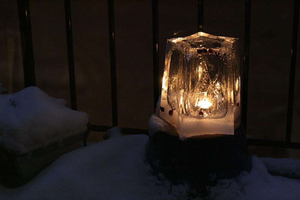 star ice lantern