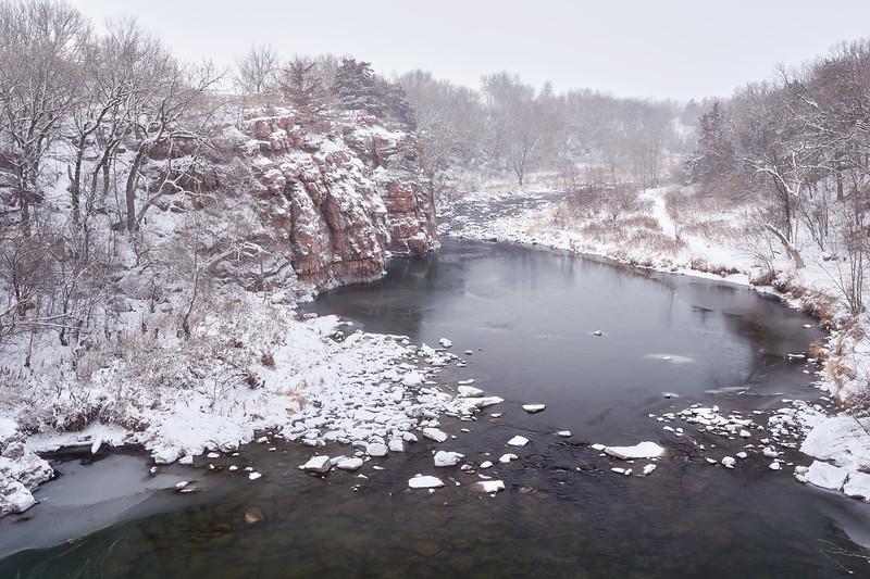 Bridge View in Winter