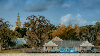 WPP2203 Fall Cypress at Rollins Boat House
