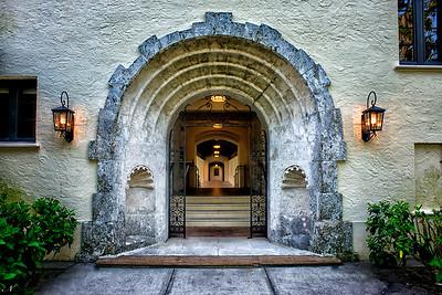 "WPP1165  ""Lyman Hall Entrance at Rollins College"""