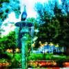 WPP2434  Peacock in Rose Garden