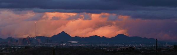 Sunset Storm over downtown Phoenix, jan 7, 2016b 040