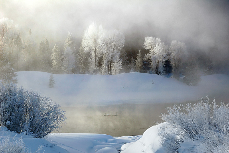 Frigid Dawn - Grand Teton National Park, Wyoming