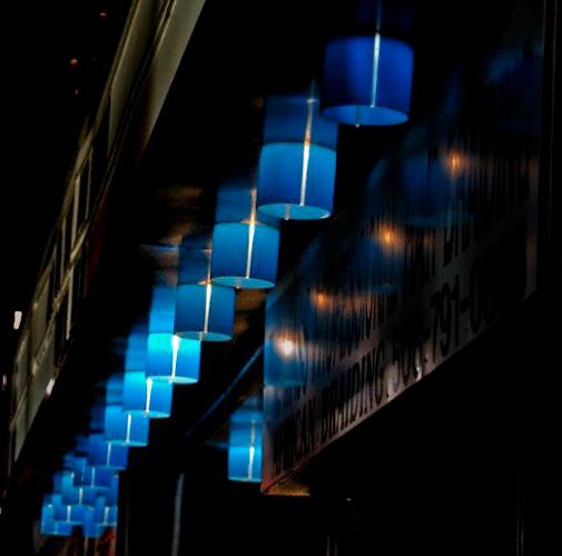 Blue Lights - Marque of Paris Cinema, Worcester, MA