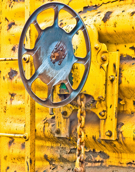 Brake Wheel with Yellow or Break Wheel and Yellow<br /> <br /> Received 'Honorable Mention' award in the 6th Annual Contest. 2008