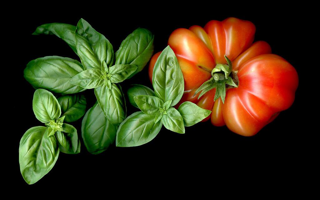 Summer: Heirloom Tomato and Basil