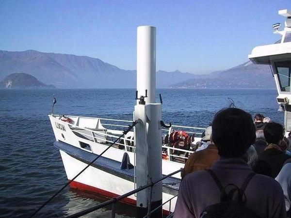 Lago di Como ferry