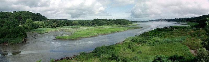 Roslyn Harbor panorama