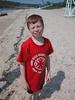 James on the beach