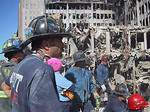 Mike L at the Trade Center disaster