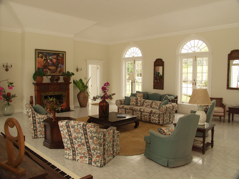 Montego mansion interior