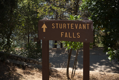The parking lot is packed and cars are parked along the street leading up to Chantry Flat.  Apparently most of the crowd will be heading to Sturtevant Falls...but we are not most of the crowd.