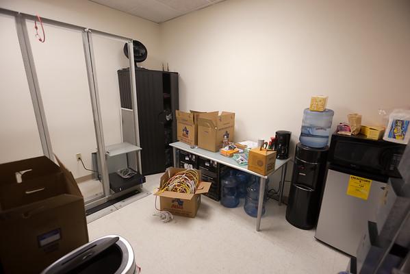 Server room / sinkless kitchenette