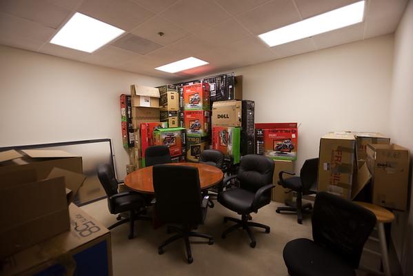Game room (or box storage?)