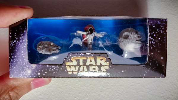 DECEMBER - Who remembers where I picked up this exclusive limited edition Star Wars Trilogy Micro Machines box set?