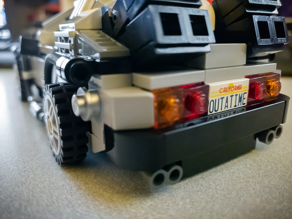"""I guess you could say I was """"outatime""""...GREAT SCOTT!"""