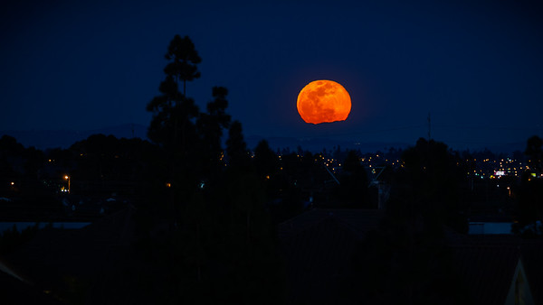 Super Snow Moon Rises (as seen from Big Red Button Entertainment)