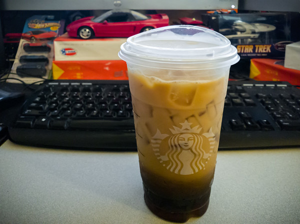 Free venti iced coffee thanks to #StarbucksSummerGame which ended yesterday #InstantWin #StarbucksRewards