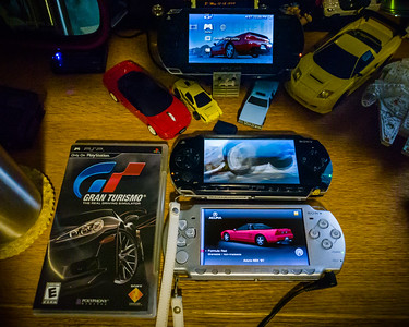 I have a love/hate relationship with Gran Turismo PSP.  On one level, it runs at a glorious 60fps at a stellar resolution for its screen size and it features an enormous depth of content by basically including every circuit and vehicle that was in the GT series to date plus some cars and brands (like Ferrari) that had not yet made an appearance.