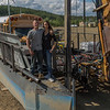 Nate and Daniel of the Gold Dredge XWife