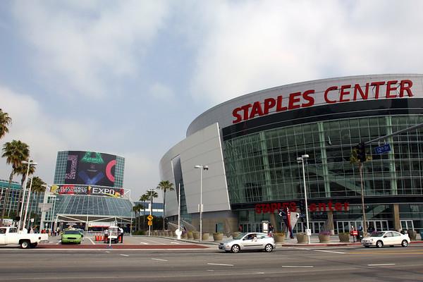 LA Convention Center and Staples Center