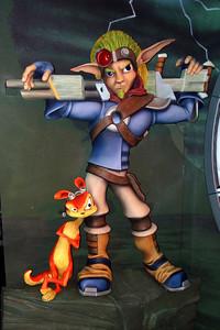 Jak and Daxter (Jak's eye level - left of center - flash)