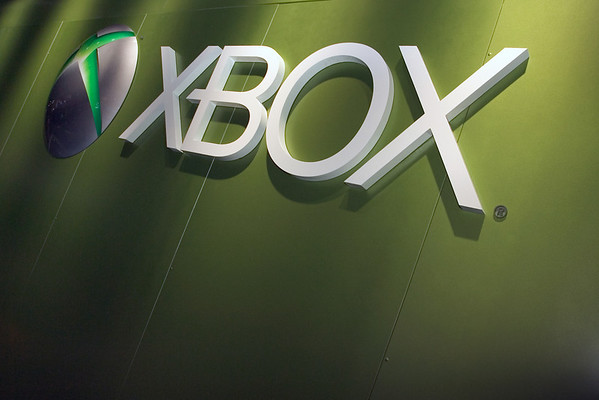 Funny...I take a picture of the Xbox logo, but not of the