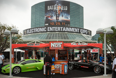 I really want to check out Battlefield 3 today, but refuse to wait in a long line at the EA booth