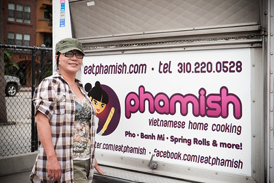 Lisa Le, head chef of Phamish, always takes good care of me