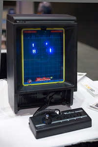 Vectrex was developed by the first company I worked for, Western Technologies (which later became Adrenalin Entertainment)...but it was long out of production by the time I joined the team.  One of the first games I worked on at Western was with Bruce Straley, who would later join me at Naughty Dog.  Bruce is the guy striking the pose on stage last night while demonstrating The Last of Us at Sony's E3 Press Conference.