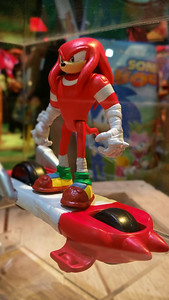Knuckles on a hoverboard?
