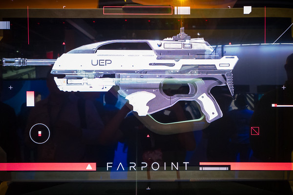 This augmented display is the perfect way of visualizing how this controller is represented in Farpoint