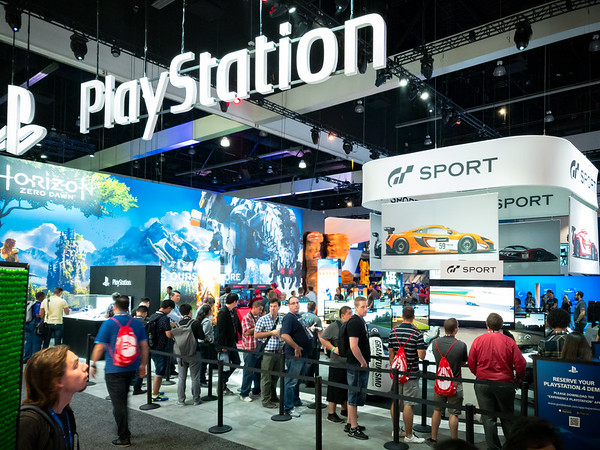 It has been a long time since I have worked on a project that runs on PlayStation, but Sony's booth is still the first place I want to visit when I attend an E3