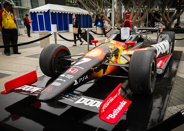 This Indy Car is DOOMed