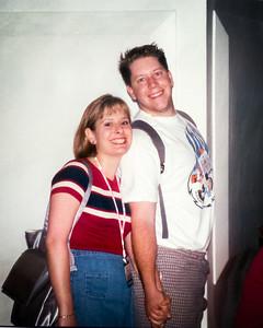 Dina and Justin Monast